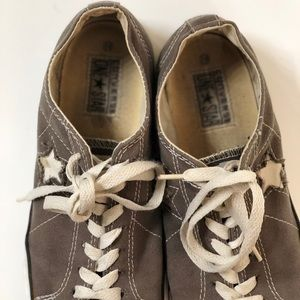 Converse Shoes - 🌟 Rare Gray Converse One Star Women's sneaker